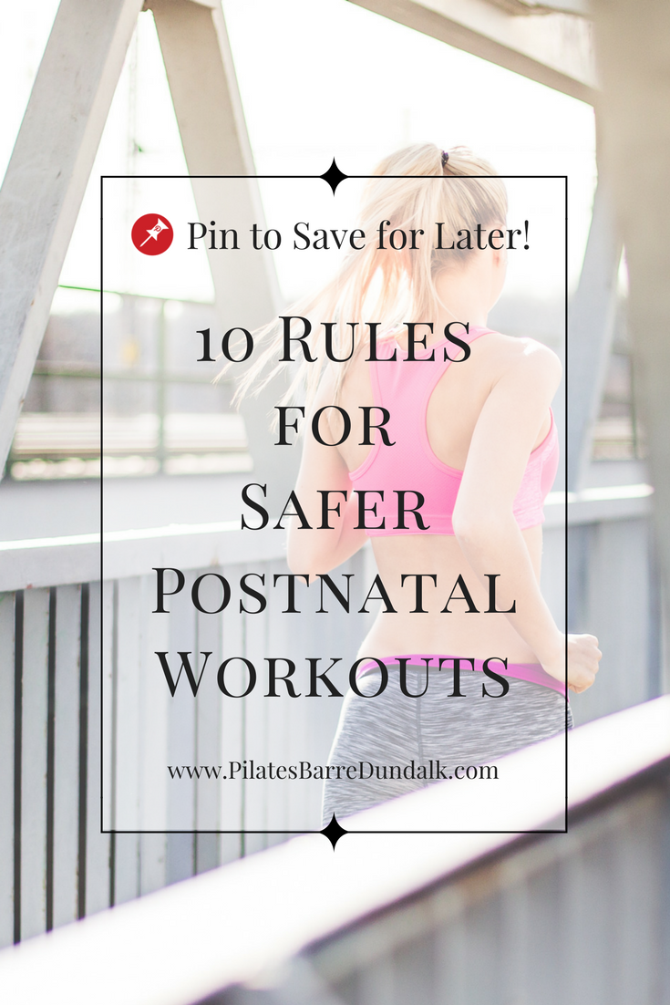 postnatal workouts