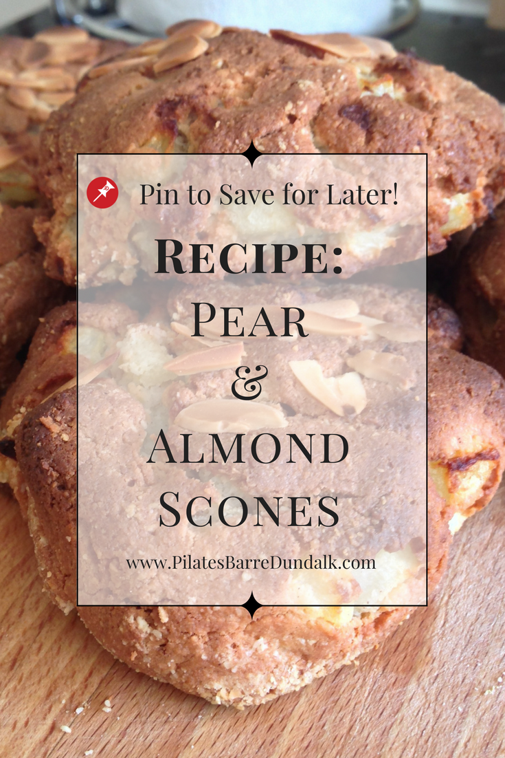 Pear and Almond Scones Recipe