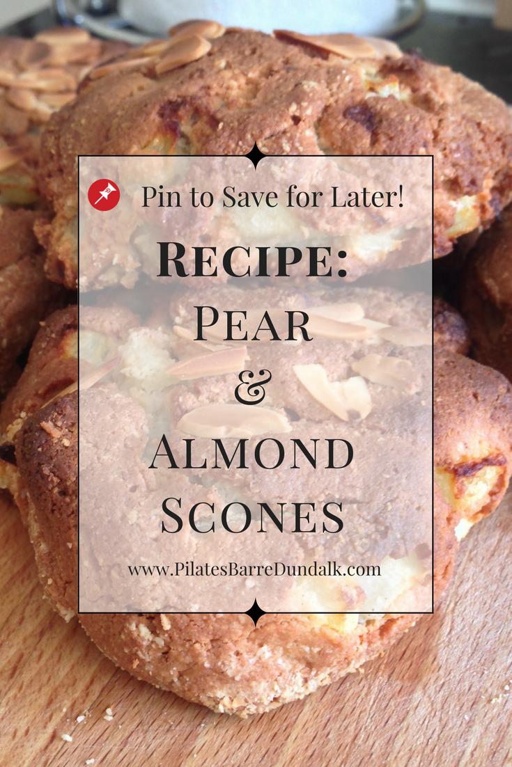 Pear & Almond Scones
