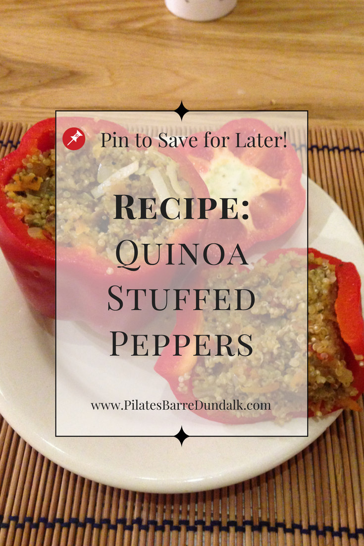Quinoa Stuffed Oven Roasted Peppers Recipe