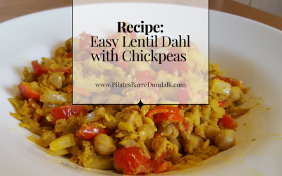 Easy Lentil Dahl with Chickpeas Recipe