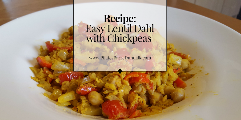 Easy Lentil Dahl with Chickpeas Recipe