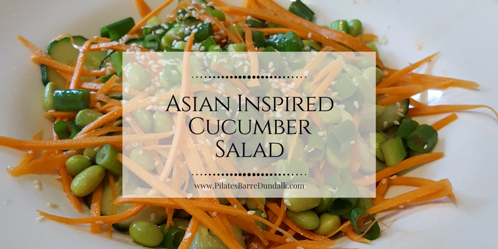 Asian Inspired Cucumber Salad