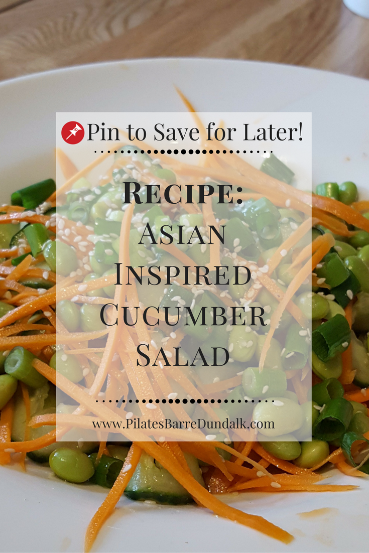 Asian Inspired Cucumber Salad Recipe