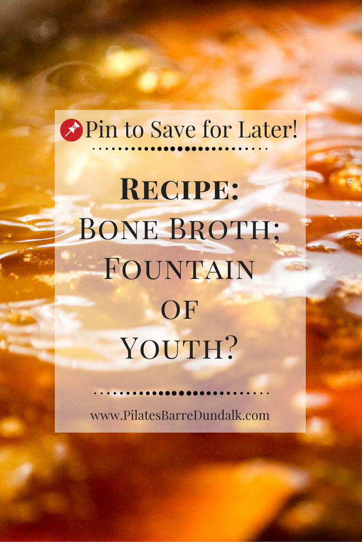 Bone Broth Stock Recipe