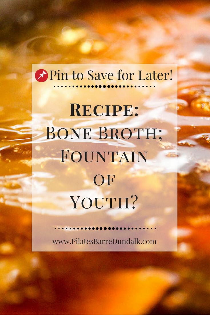 Bone Broth Benefits Recipe