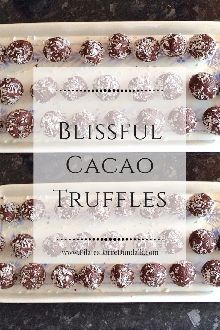 Blissful Cacao Chocolate Truffles Recipe