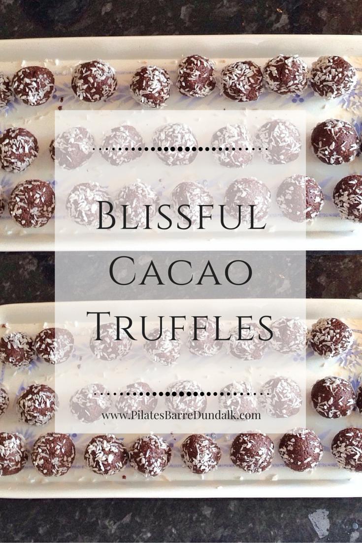 Blissful Chocolate Truffles