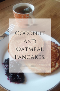 Gluten Free Coconut and Oatmeal Pancakes Recipe