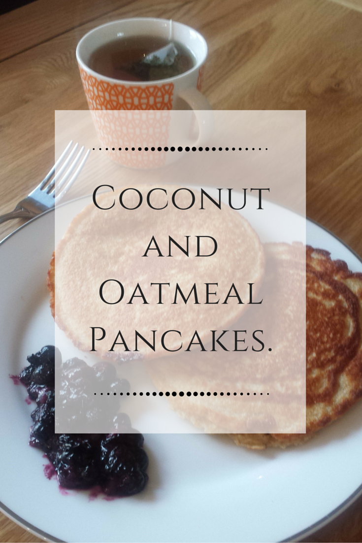 Flip Out! My Favourite Coconut and Oatmeal Pancakes