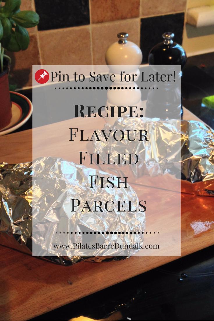 Flavour Filled Fish Parcels