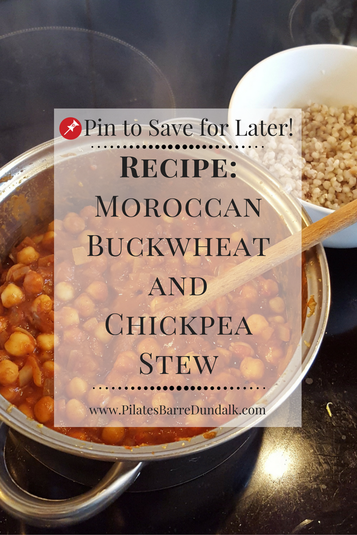 Moroccan Buckwheat and Chickpea Stew