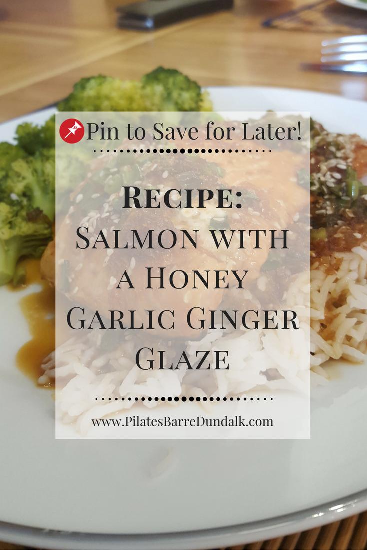 Salmon with a Honey Garlic Ginger Glaze Recipe