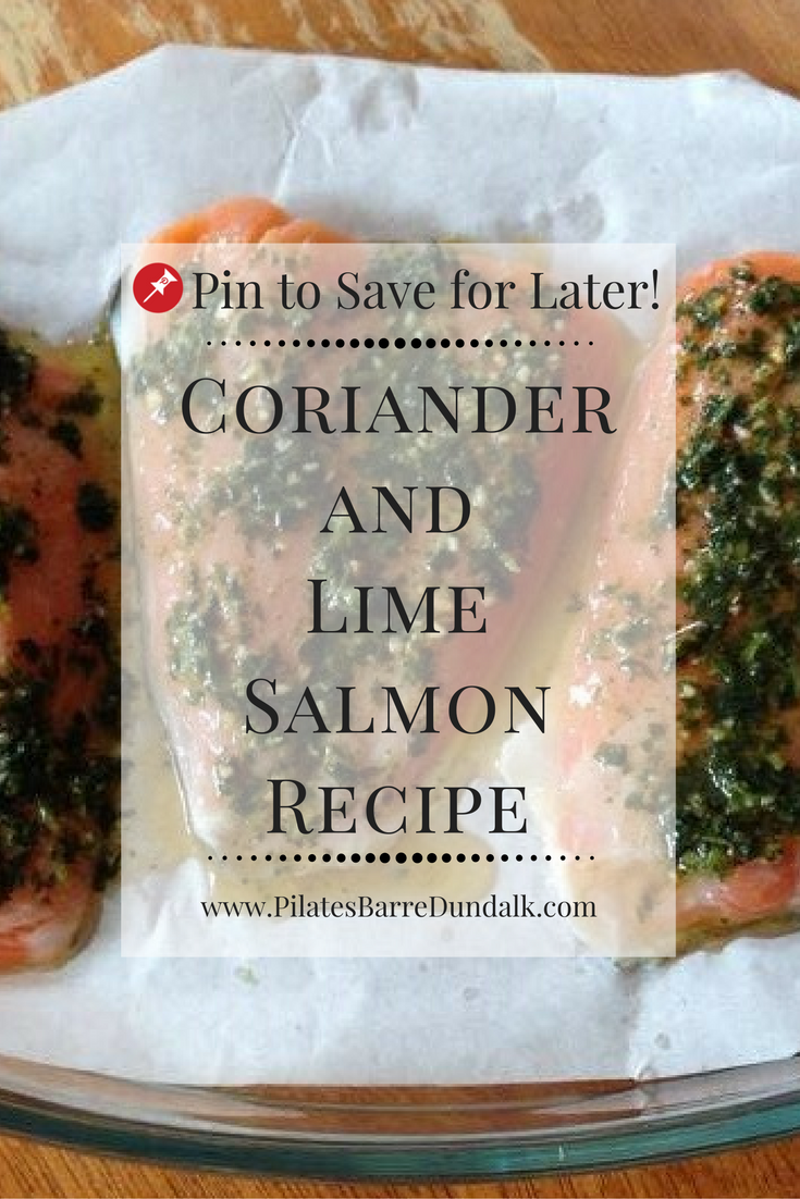 Coriander and Lime Salmon