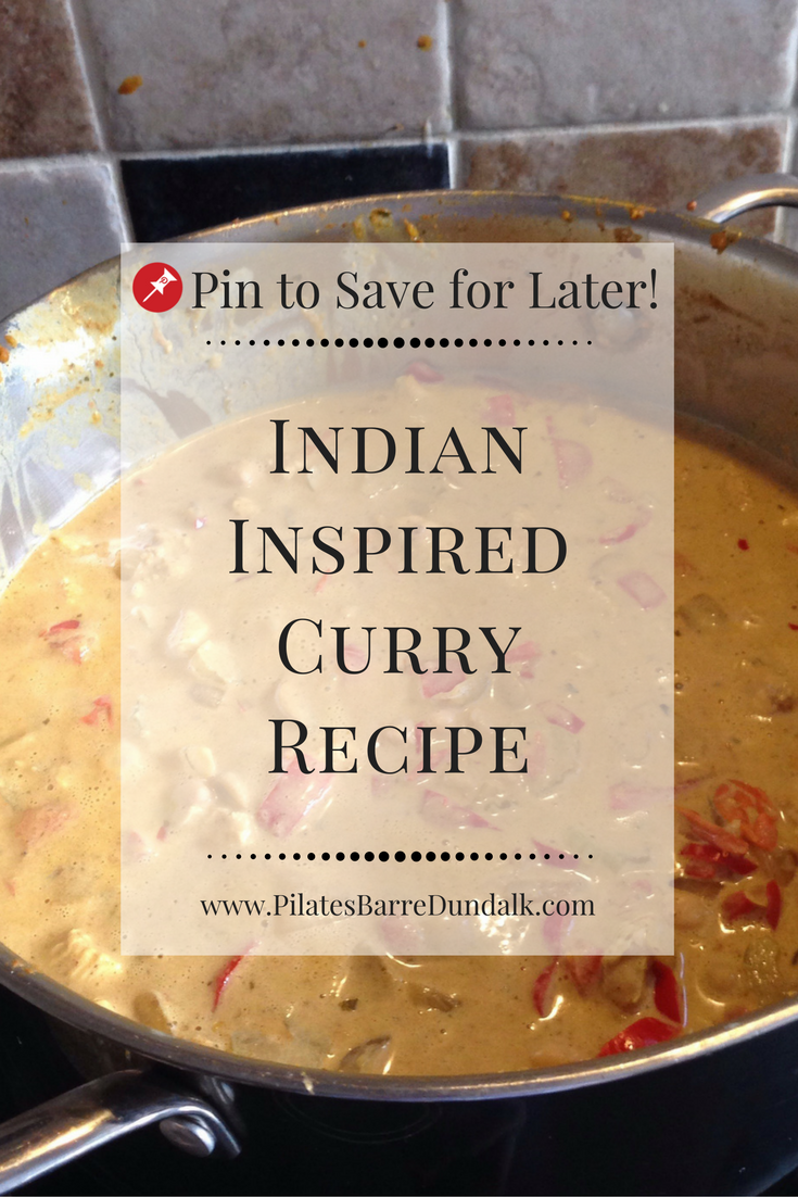 Indian Inspired Curry Recipe