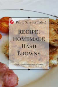 Homemade Potato Hash Browns Recipe