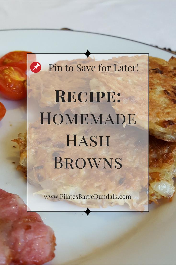 Homemade Hash Browns Recipe