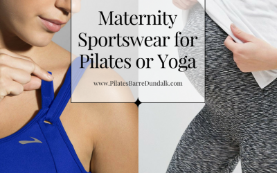 Maternity Sportswear for Pilates or Yoga