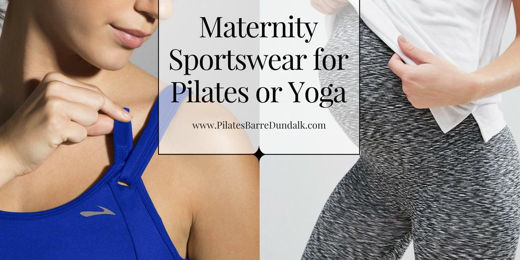 Maternity Sportswear for Pilates or Yoga
